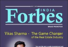 Vikas Sharma Forbes Magazine Cover