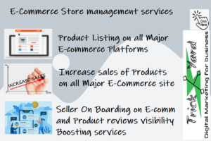E-commerce Product listing sales boosting and product reviews